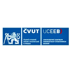 Logo ČVUT UCEEB, energy and transport references